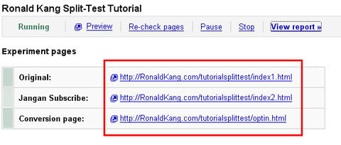 Google Website Optimezer14 - Tips Meningkatkan Konversi Menggunakan Google Website Optimizer