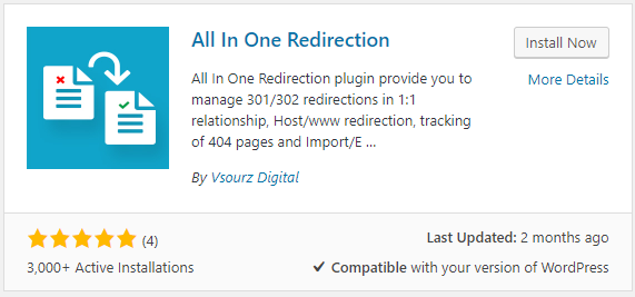 plugin all in one redirection - Cara Redirect Website Wordpress Non WWW ke WWW